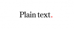 Plain Text Ltd