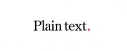 Plain Text Ltd
